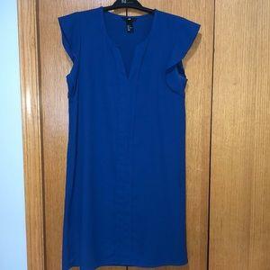 H&M royal blue sheath dress